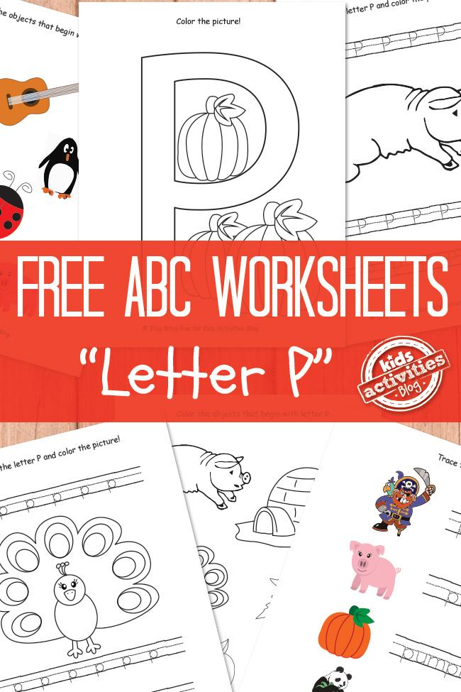 free letter p worksheets free homeschool deals. Black Bedroom Furniture Sets. Home Design Ideas
