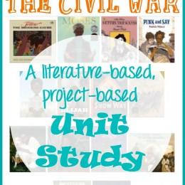 FREE Slavery and Civil War Unit Study