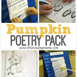 FREE Pumpkin Poetry Pack