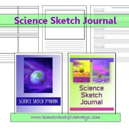 FREE Science Sketch Journal