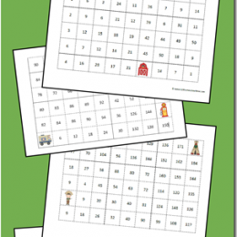 FREE Set of Skip Counting Mazes 2-10