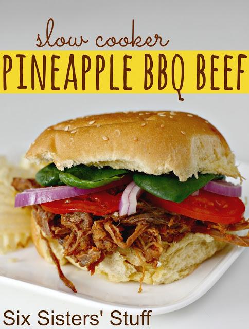 Pineapple BBQ Beef
