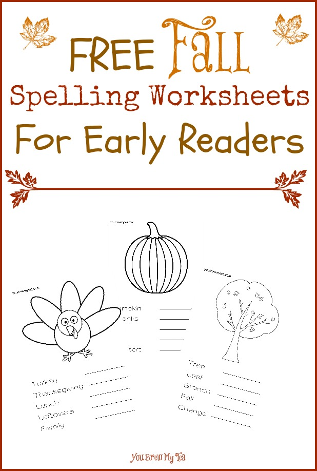 free fall spelling worksheets for early readers free homeschool deals. Black Bedroom Furniture Sets. Home Design Ideas