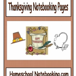 Free Printable Thanksgiving Notebooking Pages (15 Pages!)
