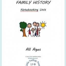 Free Family History Notebooking Unit