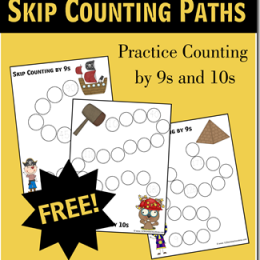 FREE Instant Download: Skip Counting by 9s and 10s