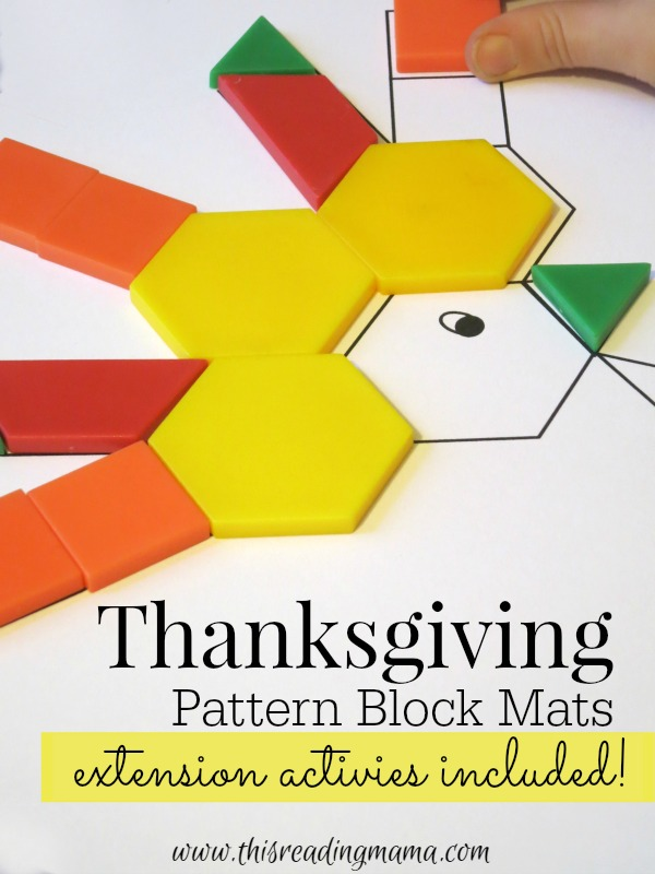 Free thanksgiving mats pattern blocks free homeschool deals cap pronofoot35fo Choice Image