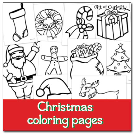 free christmas coloring pages free homeschool deals. Black Bedroom Furniture Sets. Home Design Ideas