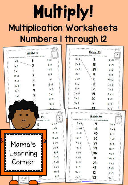 Adaptable image within multiplication tables 1-12 printable worksheets