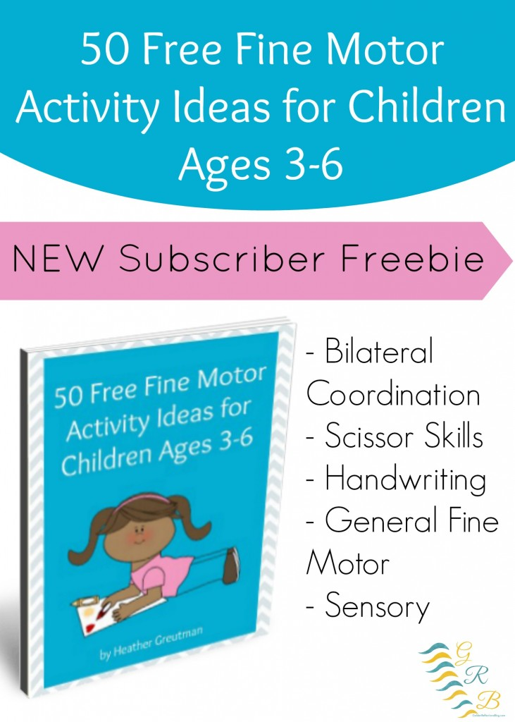 Free 50 Fine Motor Activity Ideas For Children 3 6 Free
