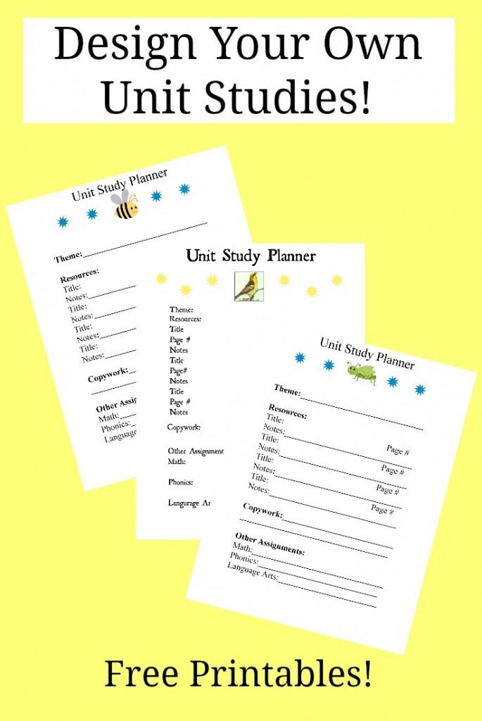 Arachnid Unit Study FREE Design You...