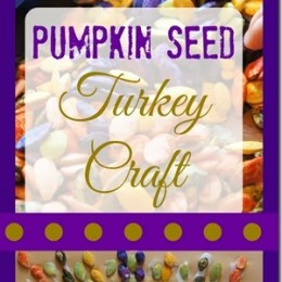 FREE Pumpkin Seed Turkey Craft