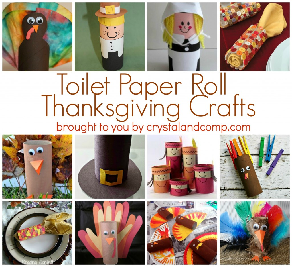 Free toilet paper roll thanksgiving craft free for Paper roll projects
