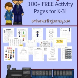 Polar Express 100 Page Activity Pack for K-3
