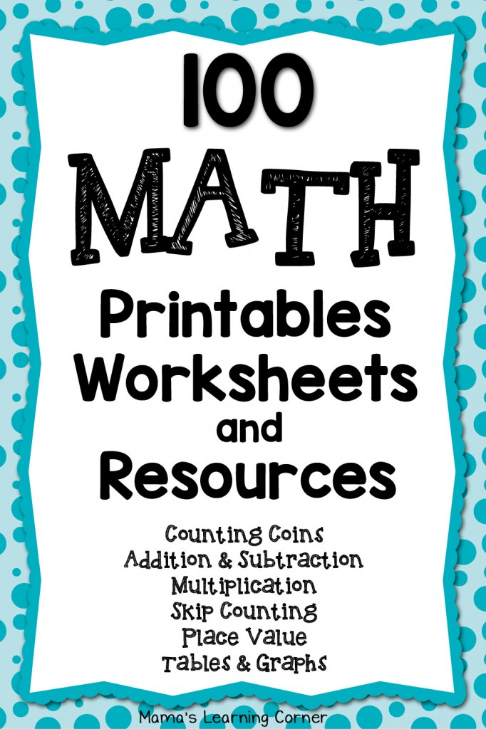math worksheet : free 100 math worksheets and printables  free homeschool deals © : Downloadable Math Worksheets