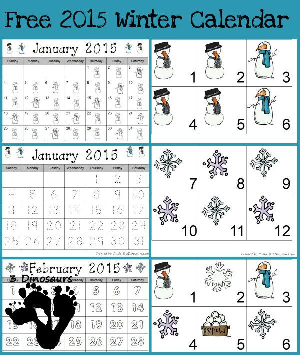 December Kindness Calendar 2015