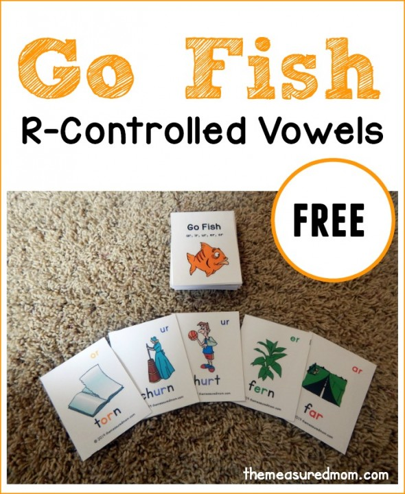Free r controlled vowels printable go fish game free for Go fish game online