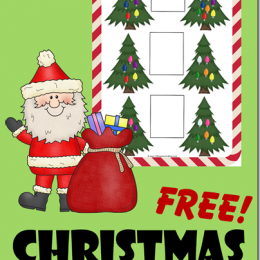 FREE Christmas Greater than and Less than