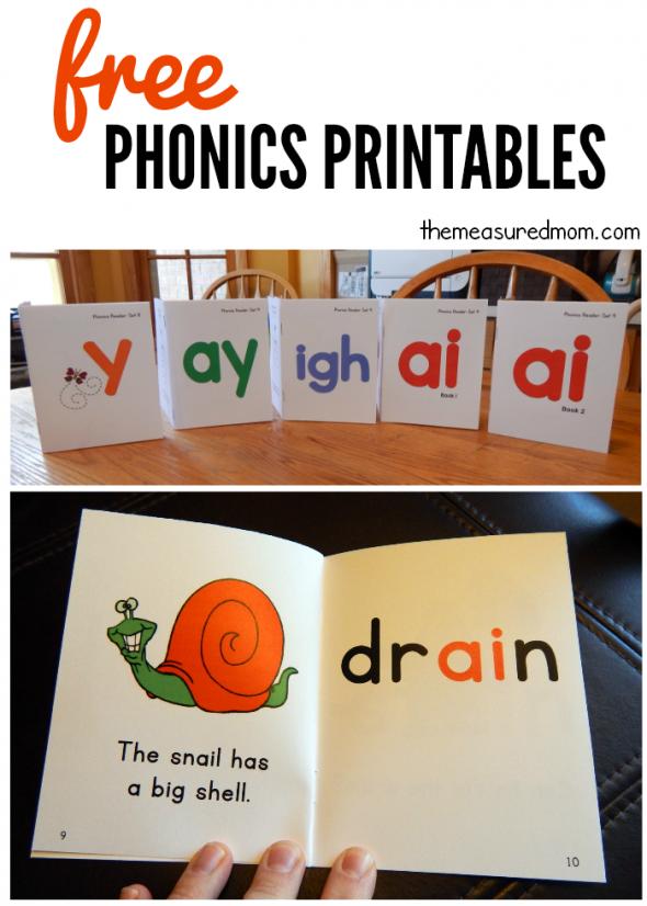 free phonics books  set 9