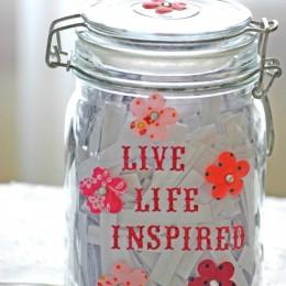 FREE Inspirational Quote Jar Printables