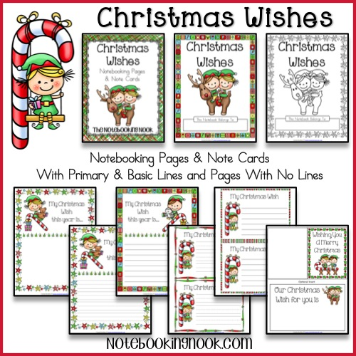 free christmas wishes notebooking pages and cards free