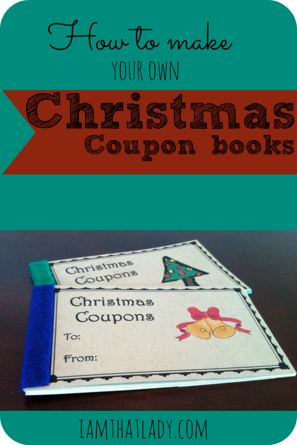 FREE Make Your Own Christmas Coupon Book  Print Your Own Voucher