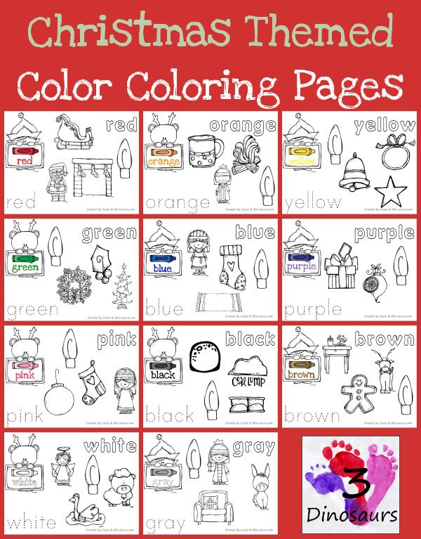 free christmas themed color coloring pages free homeschool deals. Black Bedroom Furniture Sets. Home Design Ideas