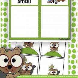 Free Groundhog Sizing Mat Printables