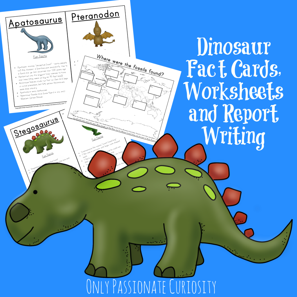 free dinosaur fact cards worksheets and report writing january only free homeschool deals. Black Bedroom Furniture Sets. Home Design Ideas
