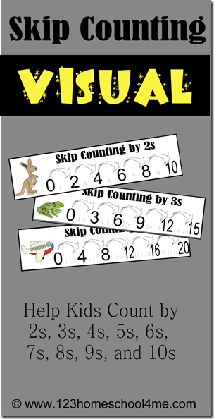 free skip counting printables free homeschool deals. Black Bedroom Furniture Sets. Home Design Ideas