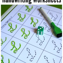 FREE CURSIVE HANDWRITING WORKSHEETS (instant download)