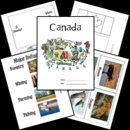 FREE Canada Lapbook