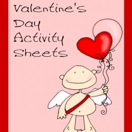 Free Valentine's Day Activity Worksheets