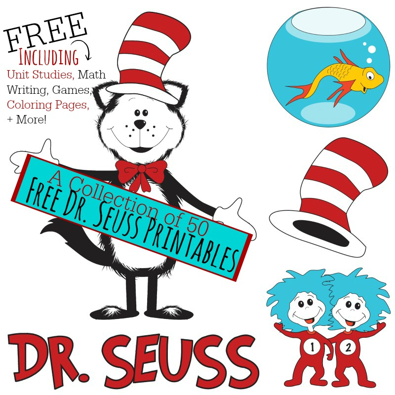 This is a photo of Stupendous Dr Seuss Printable Activities