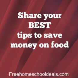 Question Time: Share your best tips to save money on food