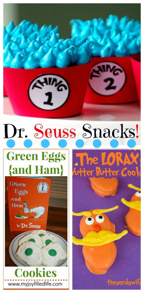 Big Yummy List Of Dr Seuss Snacks Over 40 Free