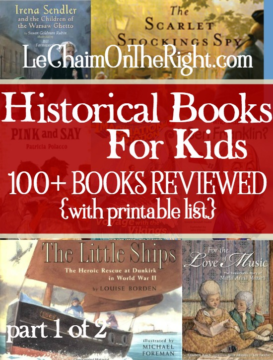 Free Printable List Of 100 Historical Books For Grades 1