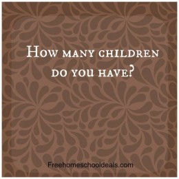 Question Time: How many children do you have?