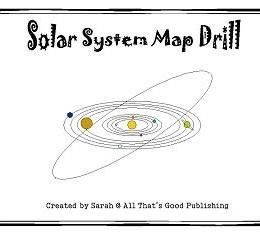 Free Solar System Map Drill