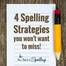 4 Spelling Strategies You Don't Want to Miss!