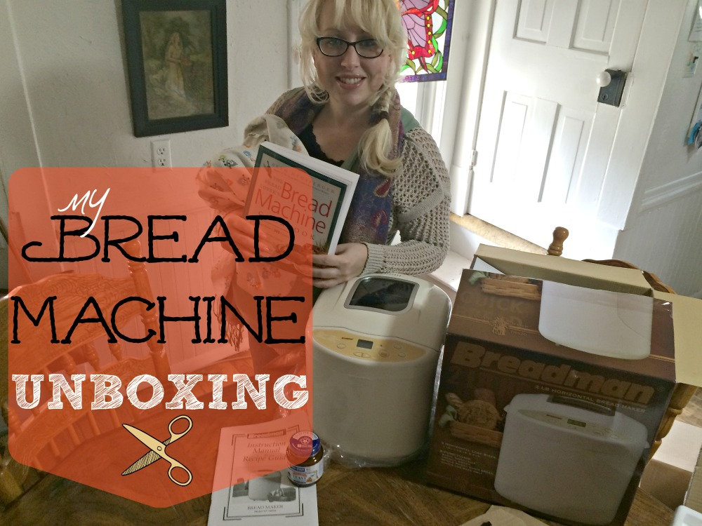 BREAD MACHINE UNBOXING