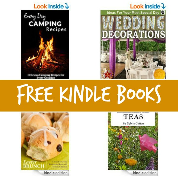 free kindle book list every day camping recipes wedding