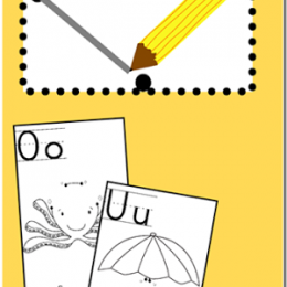 FREE Alphabet Dot-a-Dot Printables