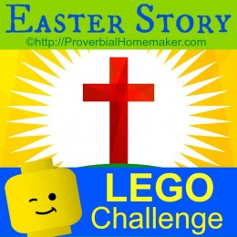 FREE LEGO Easter Story Challenge and Printable