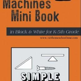 FREE Simple Machines Mini-book