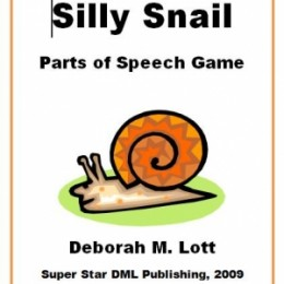 Free Silly Snail Parts of Speech Game ($3.50 Value)