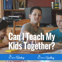 Can I Teach Reading & Spelling To My Kids Together?