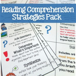FREE Reading Comprehension Printable Pack