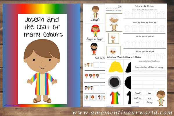Free Joseph And The Coat Of Many Colours Pack 140 Pages Free Joseph Coat Of Many Colors Activity