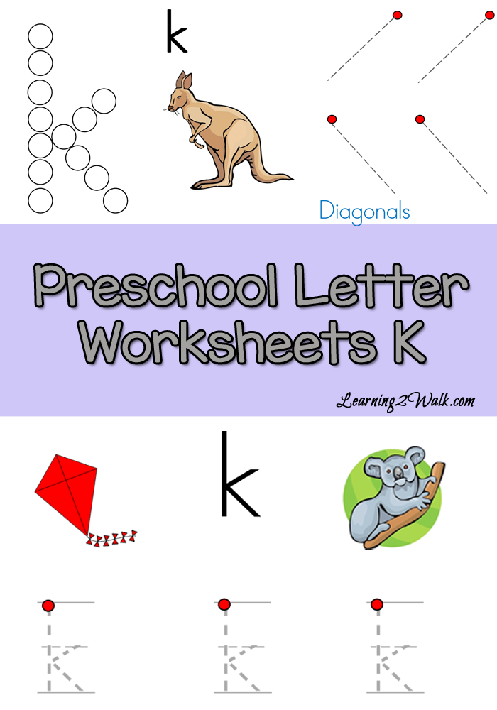 free preschool letter k worksheets free homeschool deals. Black Bedroom Furniture Sets. Home Design Ideas